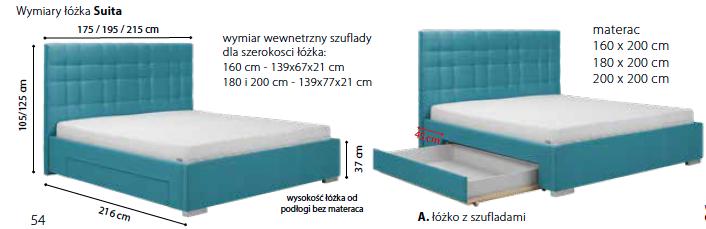 łóżko Suita